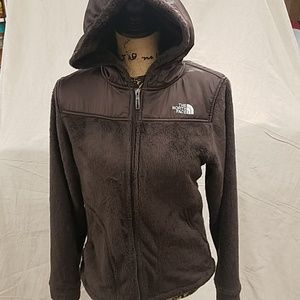 Womens -Small The North Face Hooded Fleece jacket